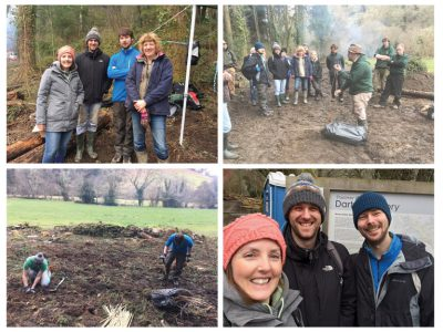 SDS Help Develop Ancient Woodland by Planting 800 Trees
